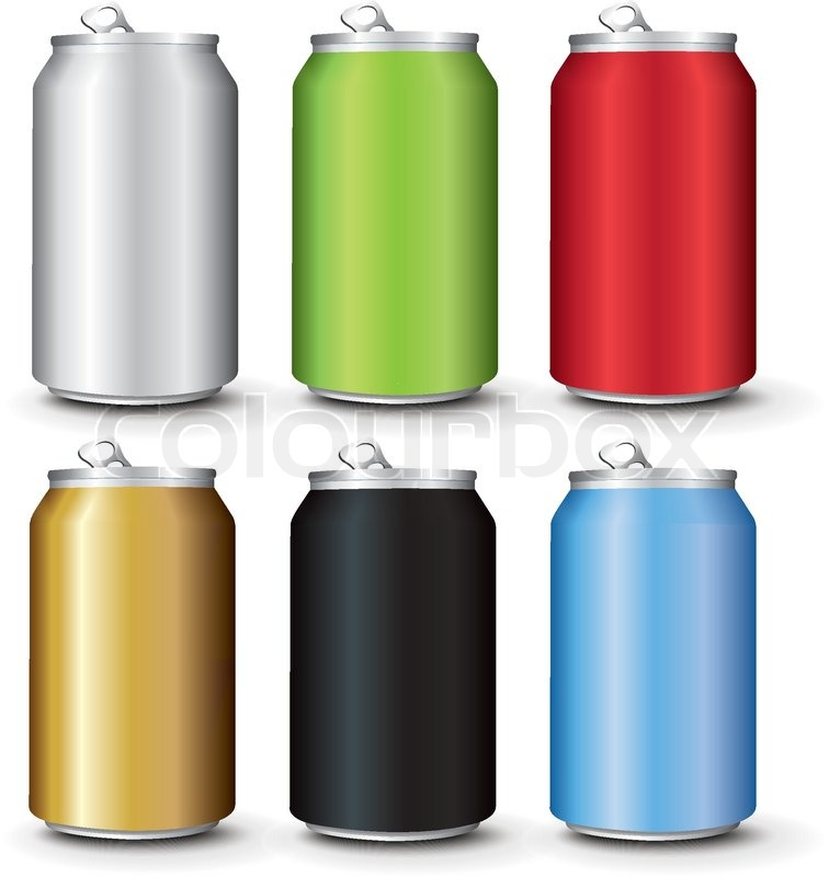 Energy Drink Design Cans