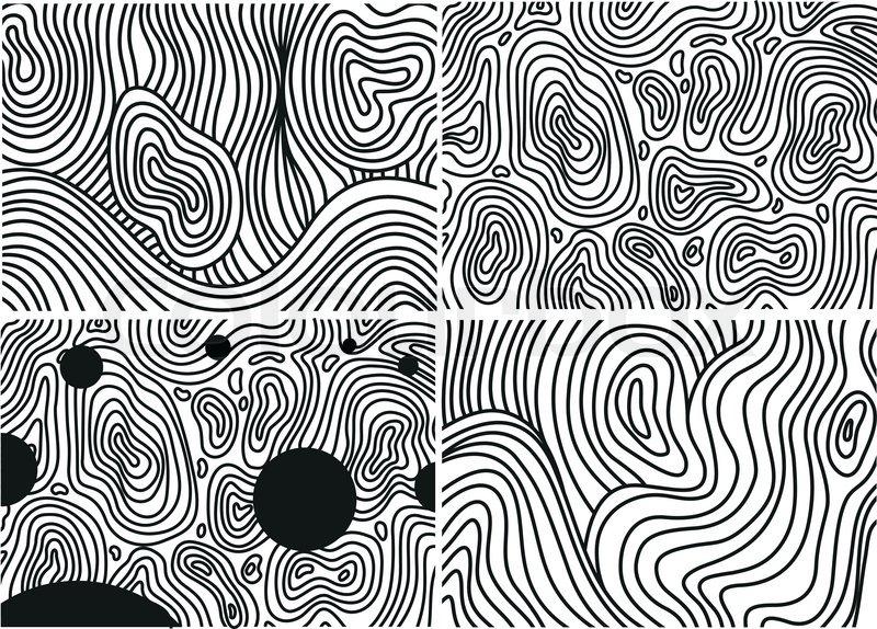 Linienraster Linienmuster Linien Muster Stock 4