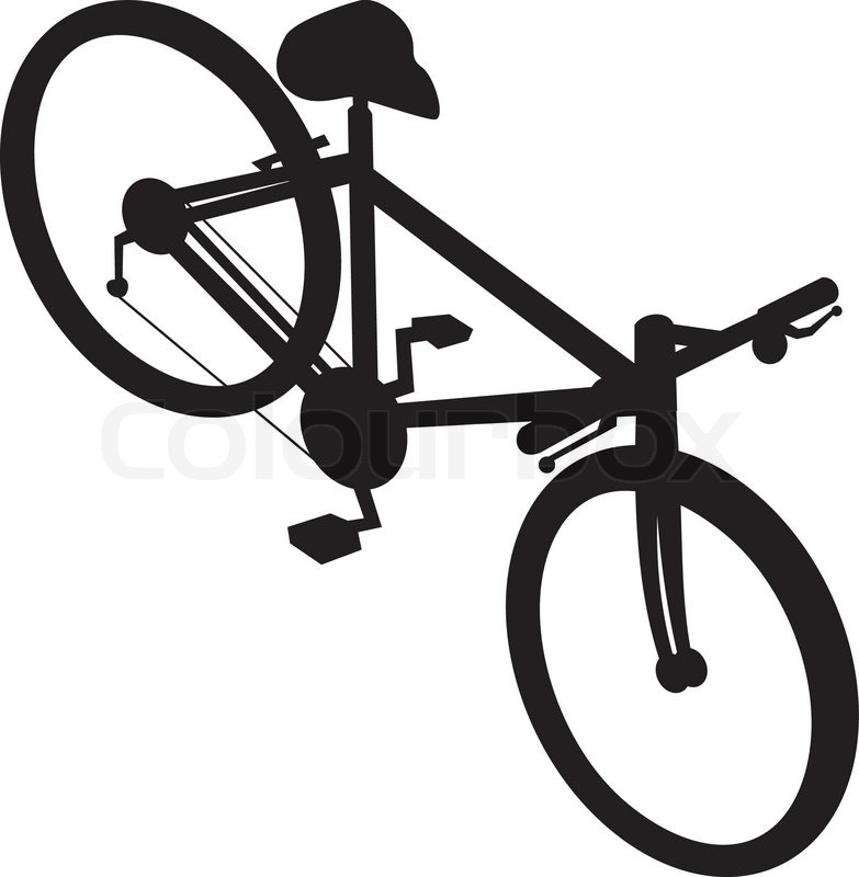Rennrad Fahrrad   Vektorgrafik   Colourbox