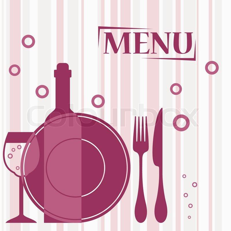 Purple background for cafe or restaurant menu design ...