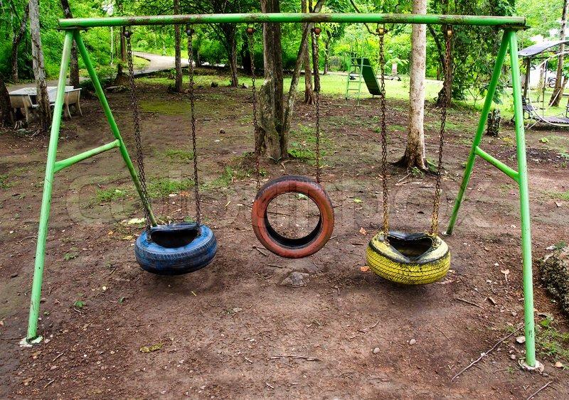 tire swing playground 1