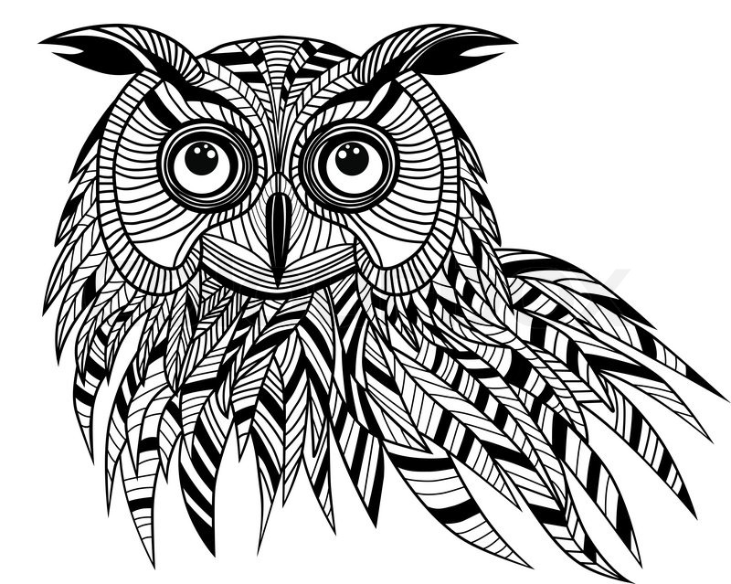 ... vector illustration for t-shirt. Sketch tattoo design. | Vector Eagle Silhouette Vector