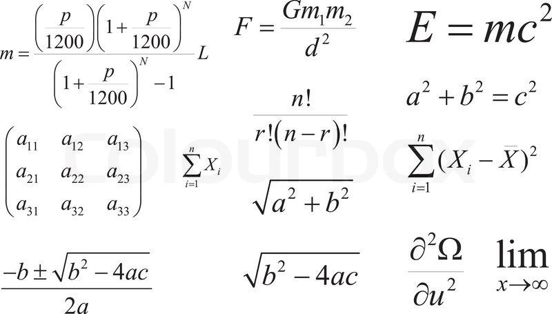 Ausgezeichnet Formel Für Mathematik Galerie - Mathematik & Geometrie ...