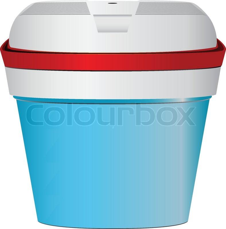 Blau kleinen tragbaren Kühlschrank für unterwegs im Auto  -> Kühlschrank Für Auto