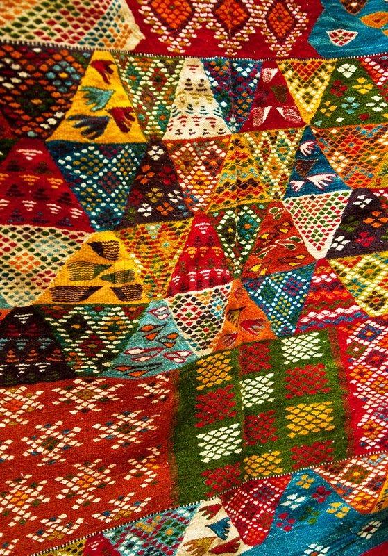 helle farben und der marokkanischen berber teppiche stockfoto colourbox. Black Bedroom Furniture Sets. Home Design Ideas