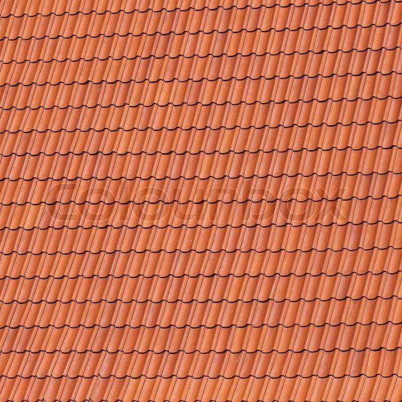 Rote Dachziegel rote dachziegel stockfoto colourbox