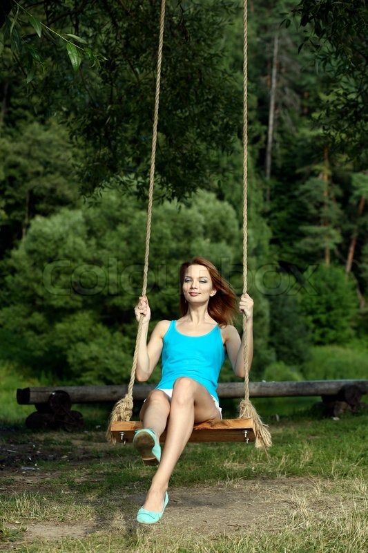 Fucked on a swing