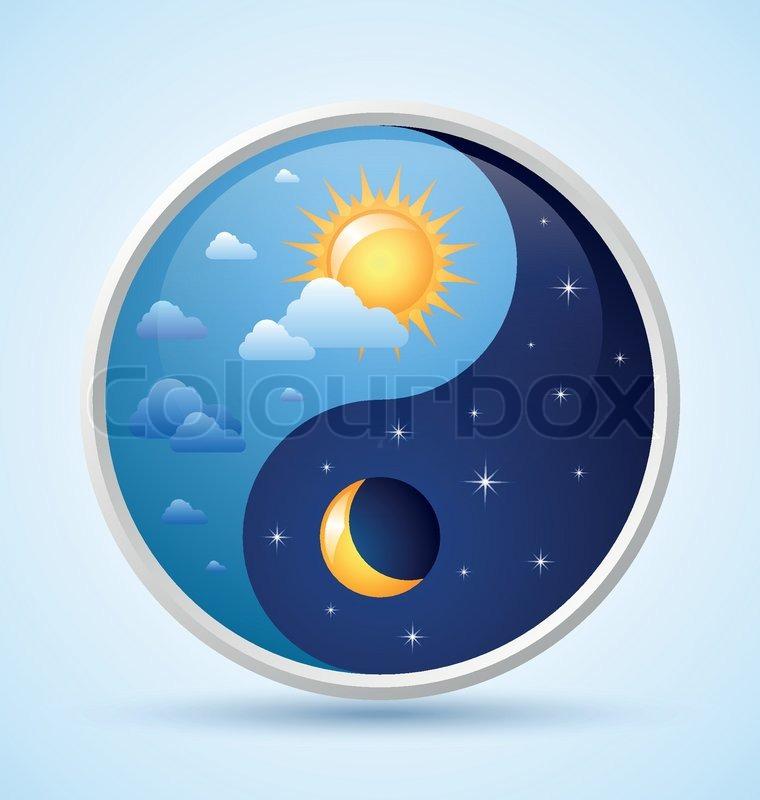 day and night symbol