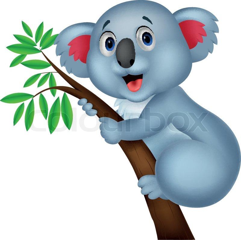 Drawing Birthday Cake With A Koala