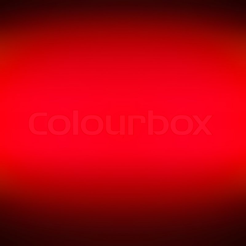 Red gradient abstract background | Stock Photo | Colourbox