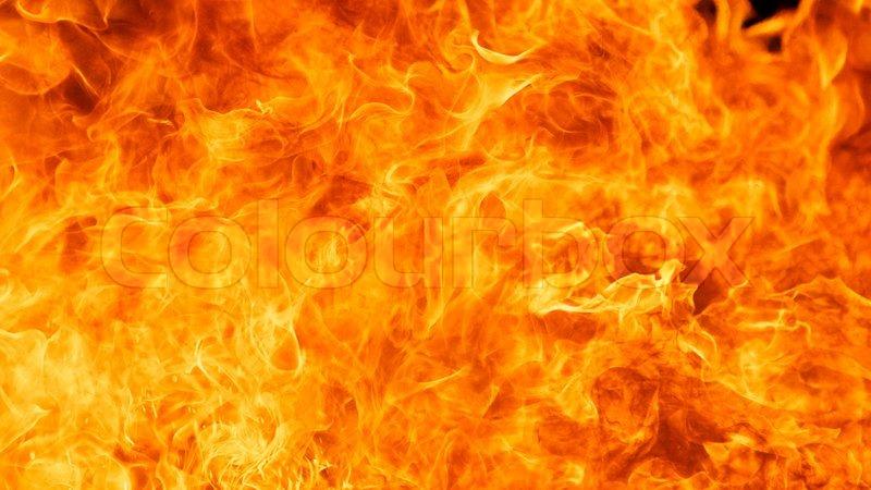 Blaze Fire Flame Texture Background Stock Photo Colourbox