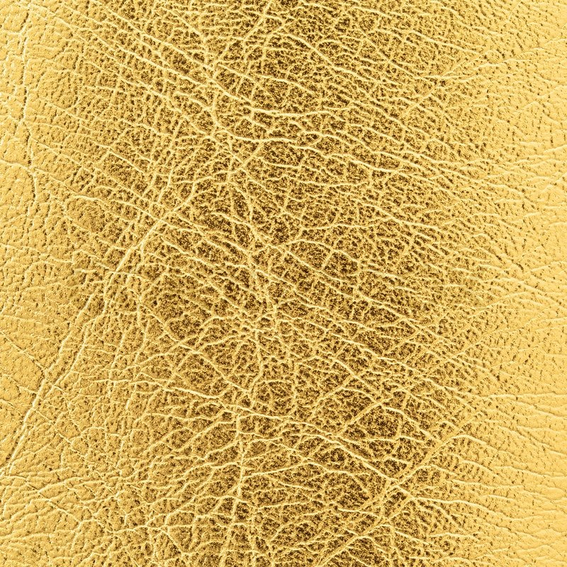 Close Up Shot Of Gold Leather Texture Background Stock Photo Colourbox
