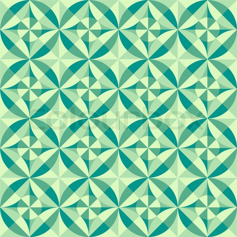 50 Shades Of Fabulous Svg: Vector Geometric Seamless Pattern Background Made Of Tiles