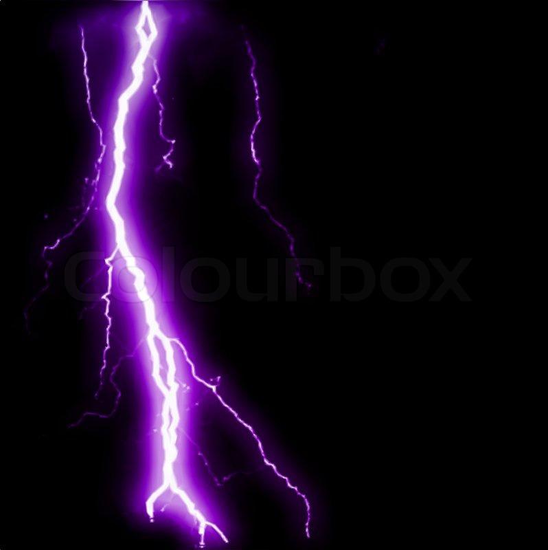Abstract Purple Lightning Flash Background Vector Illustration
