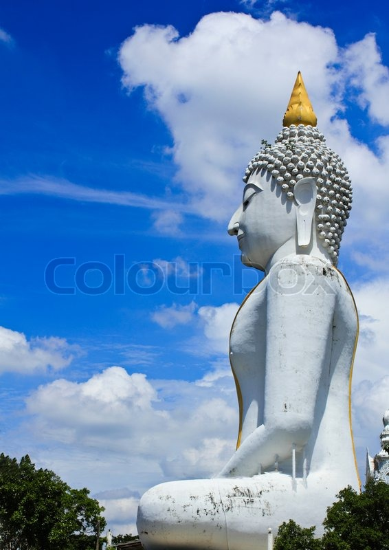 Stock image of 'The Big Buddha on Supanburi, Thailand'