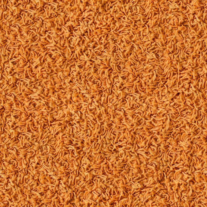 Orange Carpet Seamless Texture Stock Photo Colourbox