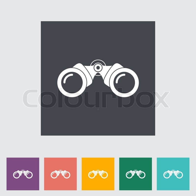 binoculars icon vector - photo #40