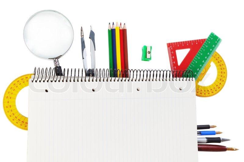 f58b3c3ec8a Reine Notebook für Textobjekte und ... | Stockfoto | Colourbox