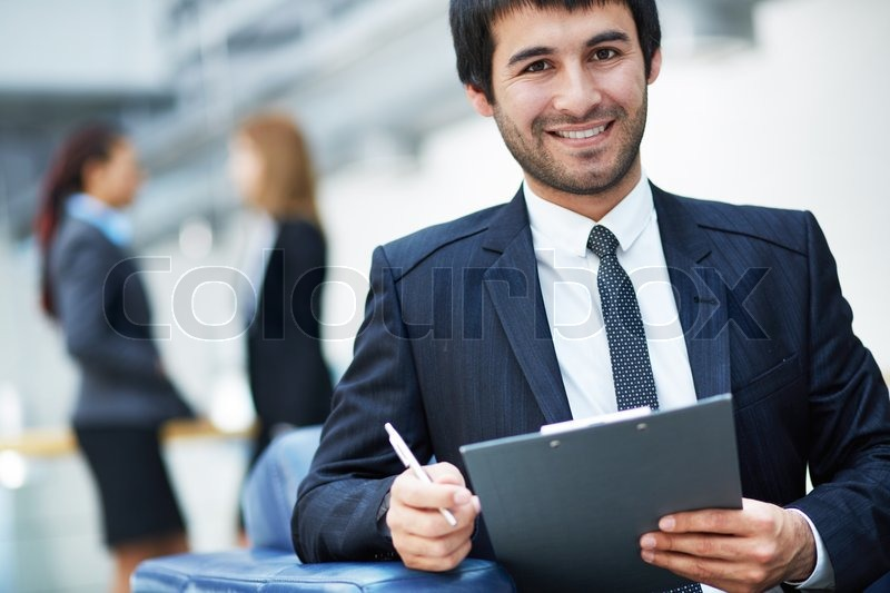 Stock image of 'Confident leader'