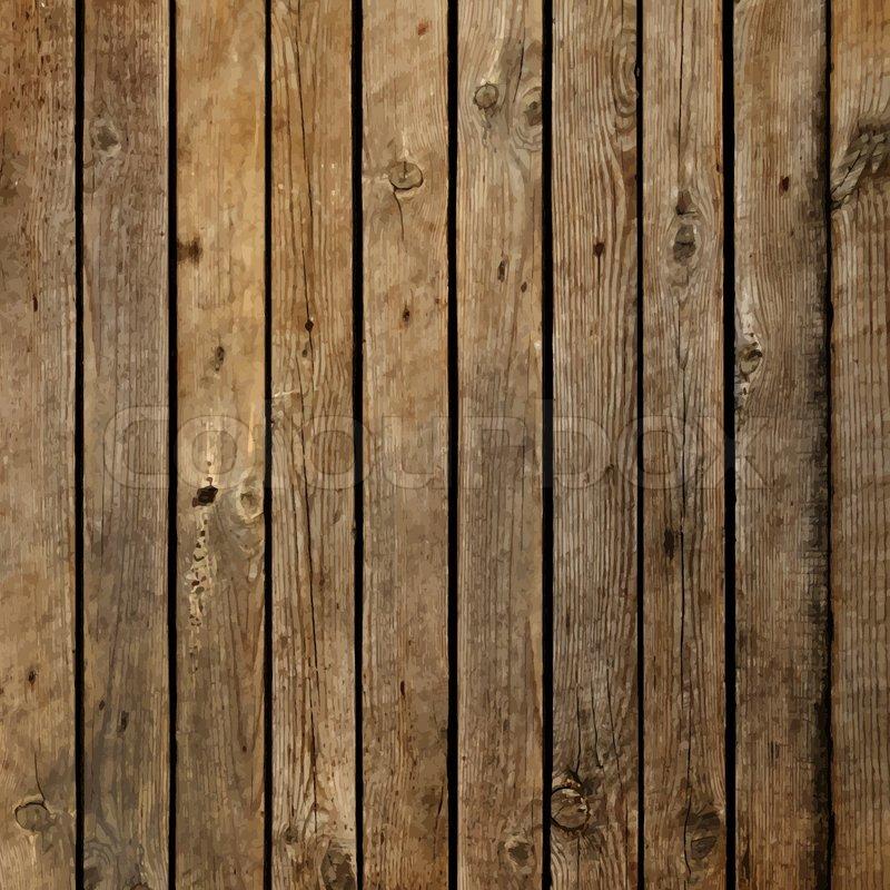 Dark wood board vector background   Stock Vector   Colourbox