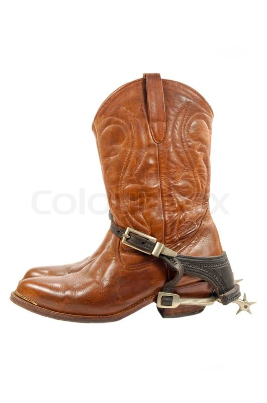 cbc9b669ee1 Western boots and spurs