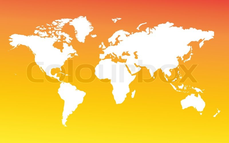 Map of the whole world. Images of all ... | Stock image ...