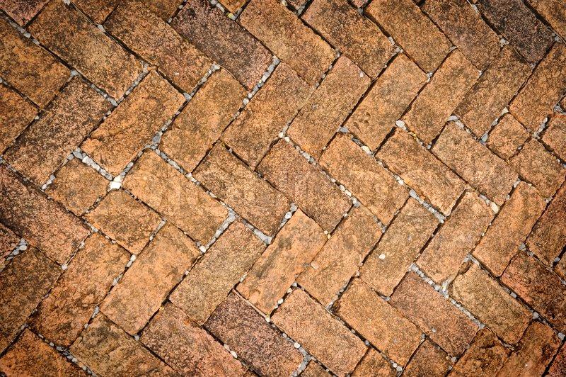 Alte schmutzige ziegel stein boden textur stockfoto for Boden ziegelsteine