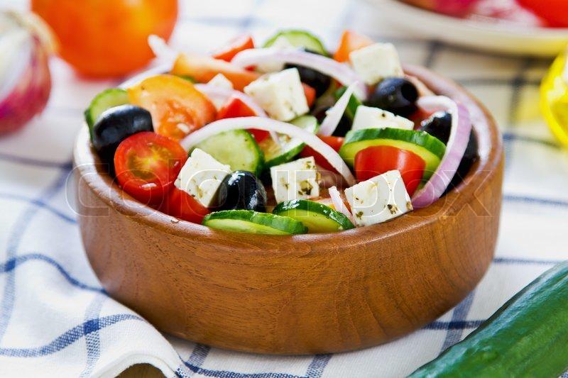 Как сделать заправку на греческий салат
