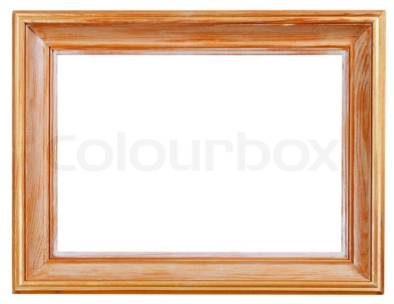 Große klassische Holz-Bilderrahmen | Stockfoto | Colourbox