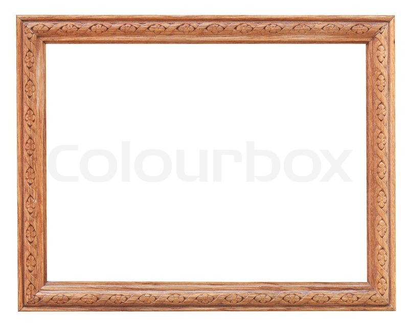 alte geschnitzte holz bilderrahmen stockfoto colourbox. Black Bedroom Furniture Sets. Home Design Ideas