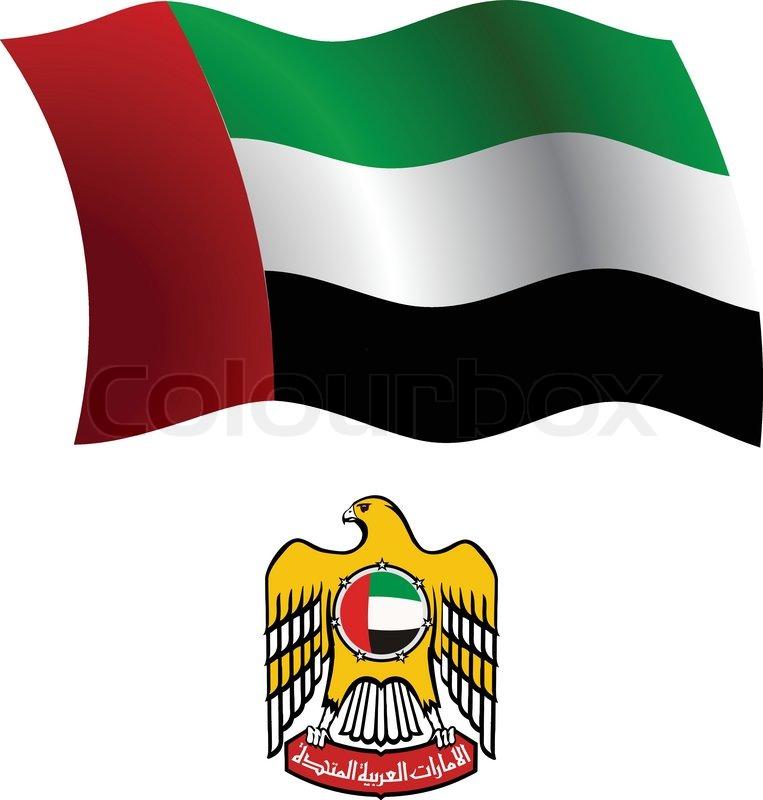Флаг арабских эмиратов фото и герб загородном участке