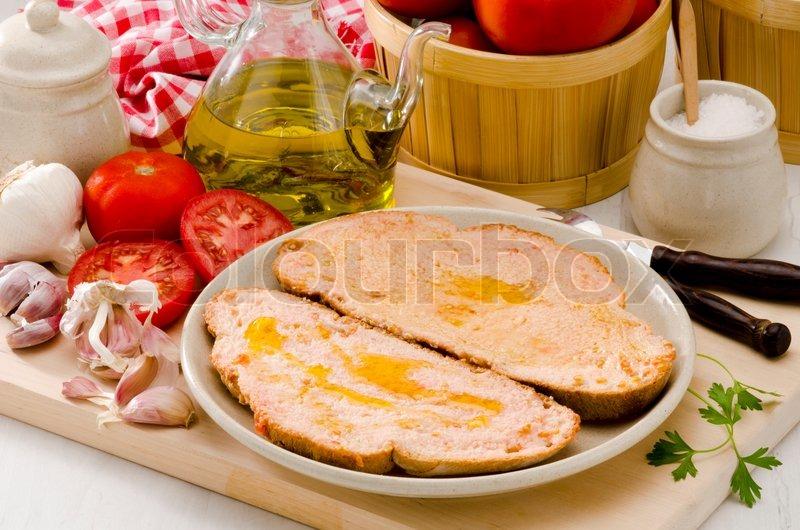 Spanische kuche tomaten