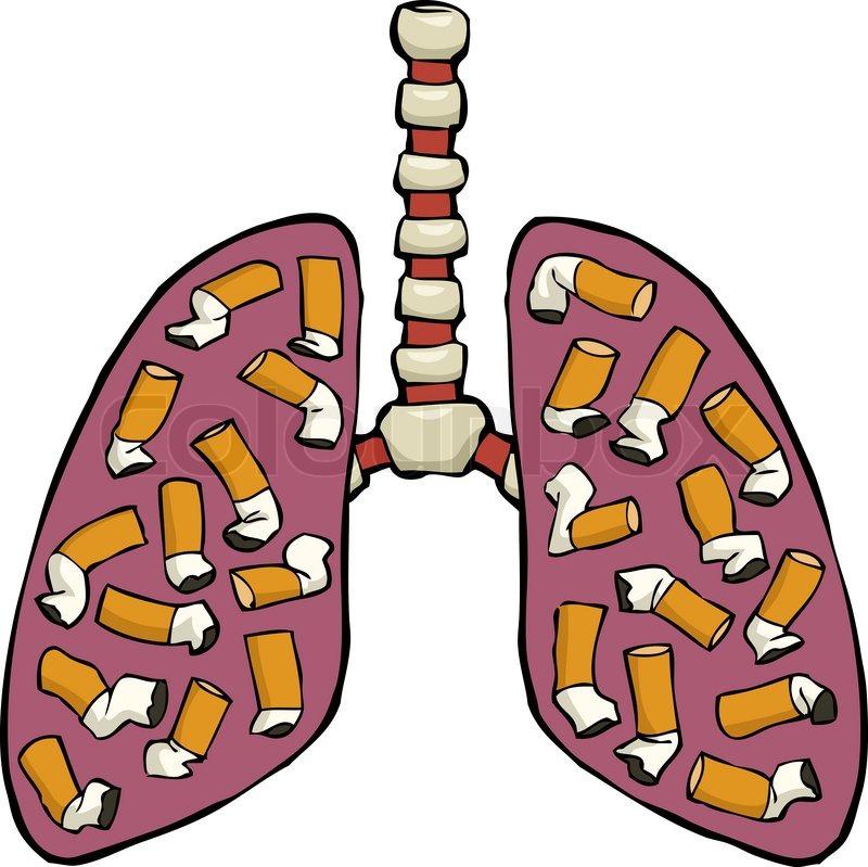 Menschliche Lunge Aschenbecher | Stockfoto | Colourbox