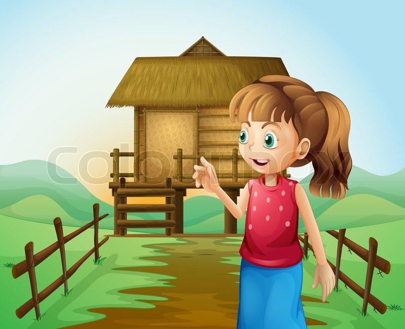 Nipa Hut Cartoon The Nipa Hut in The Farm