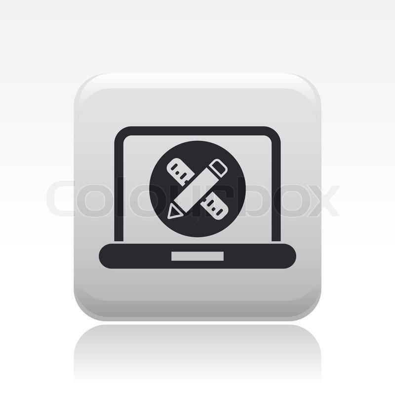 Computer Design Icon Computer Design Icon 39