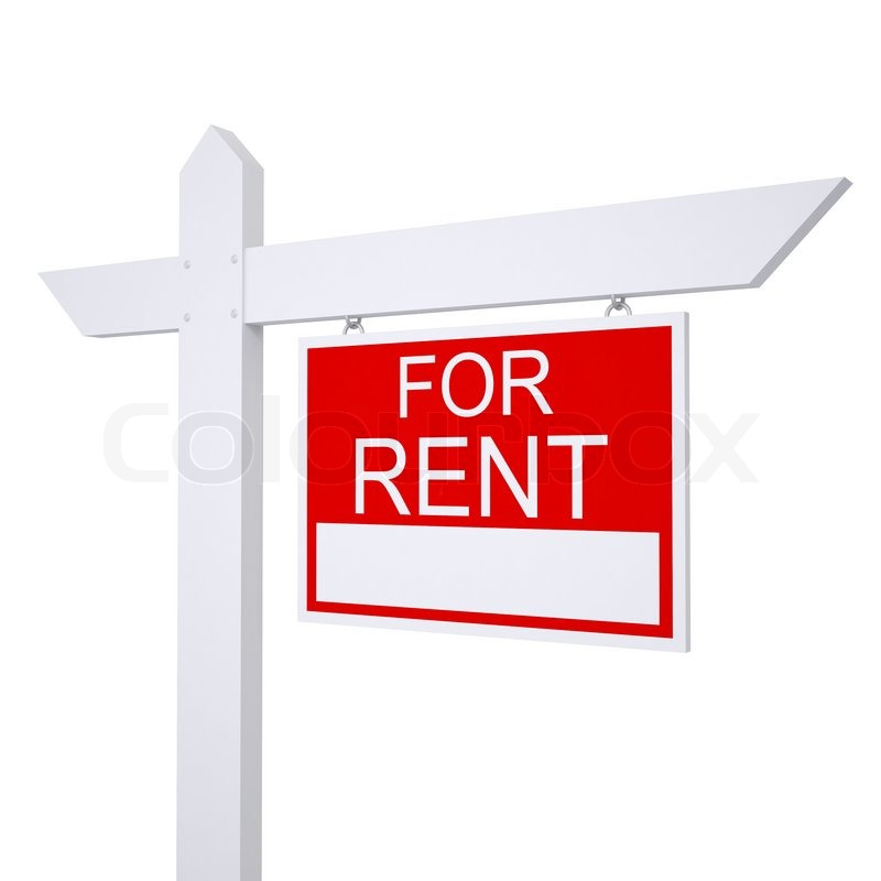Real Estate For Rent: Real Estate For Rent Sign