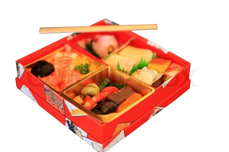 Japanese Fast Food Bento Box