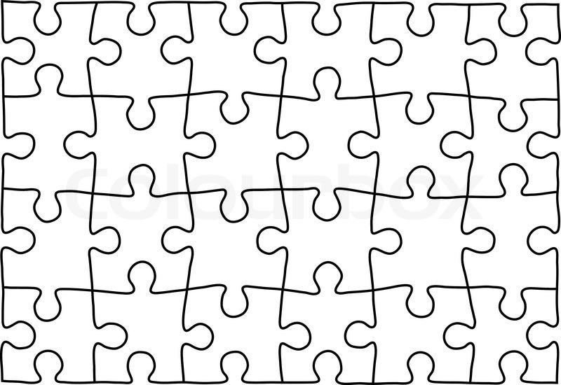 puzzle vorlage hintergrund fr ihre firmenprsentation stock vektor - Firmenprasentation Muster