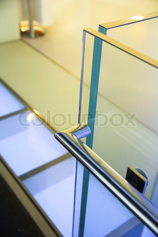 moderne glas gel nder stock foto colourbox. Black Bedroom Furniture Sets. Home Design Ideas