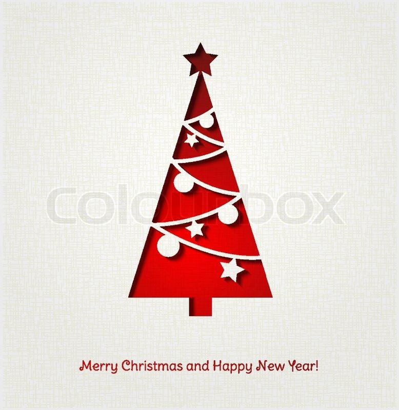 Weihnachtsbaum hintergrund stock vektor colourbox - Weihnachtsbaum vektor ...
