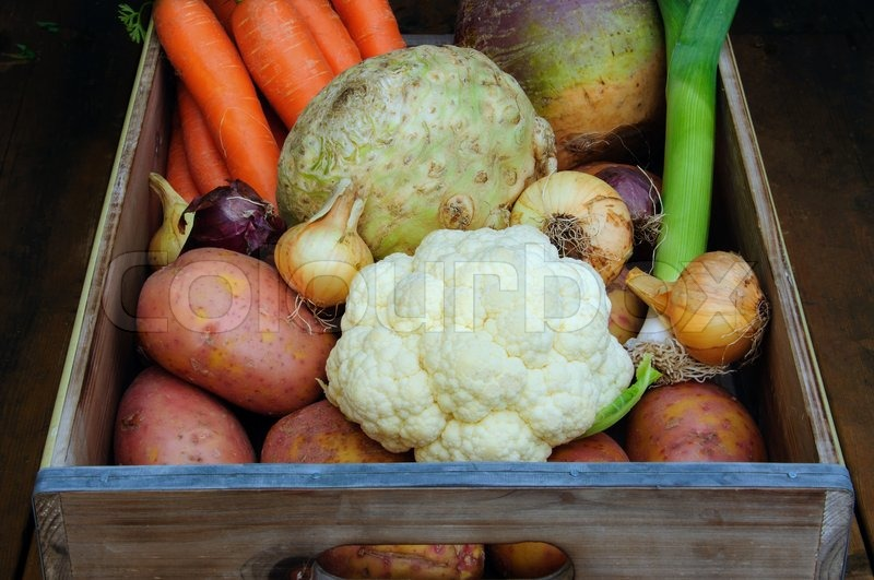 Stock image of 'Root vegetables'