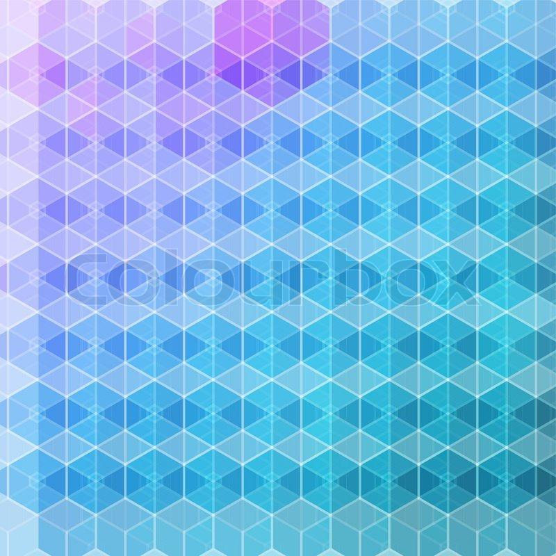 vektor muster aus geometrischen formen hintergrund bunte mosaik banner vektorgrafik colourbox. Black Bedroom Furniture Sets. Home Design Ideas