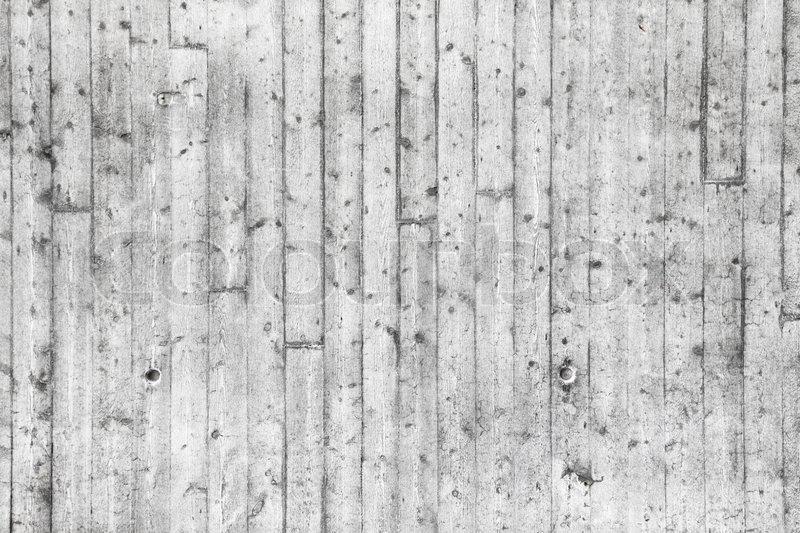 wei betonwand mit holzschalung muster stockfoto colourbox. Black Bedroom Furniture Sets. Home Design Ideas