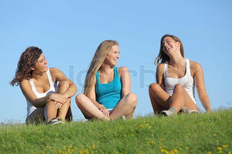 glade piger dansk teenager