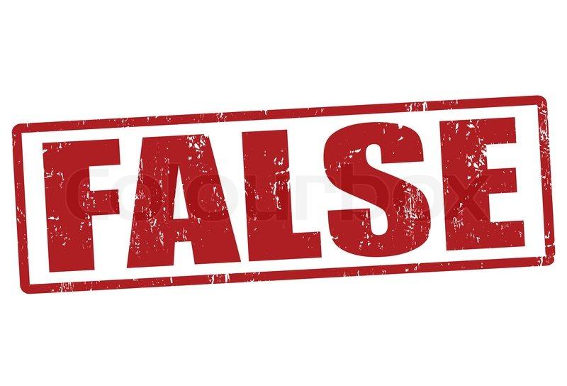 False stamp   Stock Vector   Colourbox