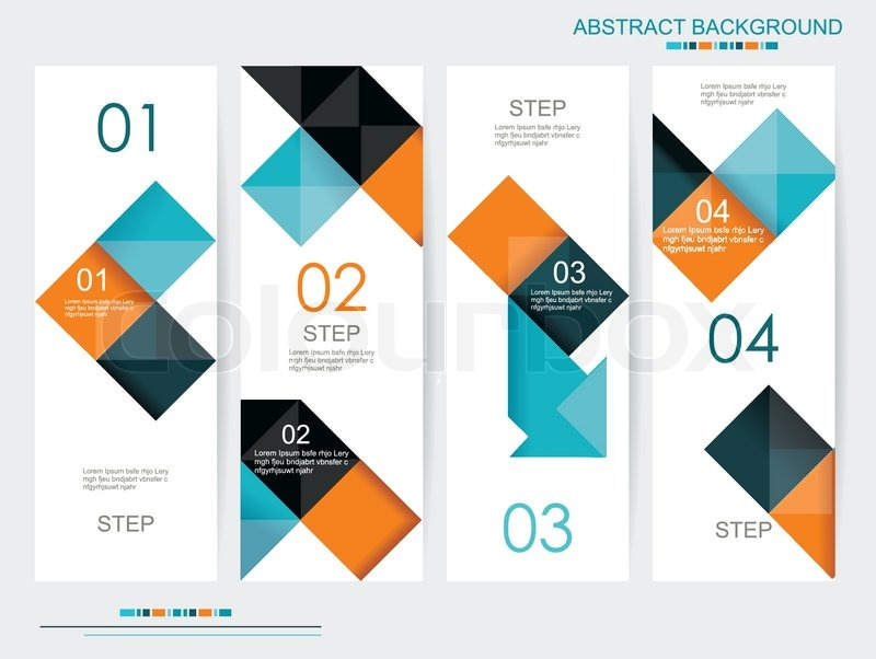 Modern Book Cover Vector : Modern design can be used for book cover graphics lay