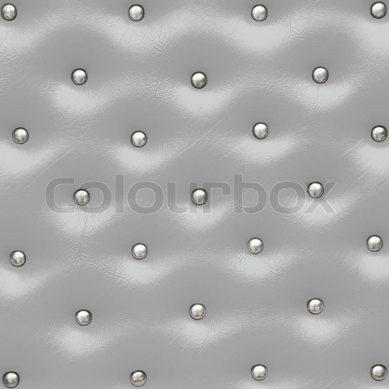 Muster Fur Pflastern : Grau Leder Muster mit Noppen , Textur für den Hintergrund  Stockfoto