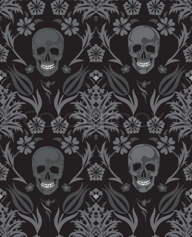 Vintage Halloween Fabric