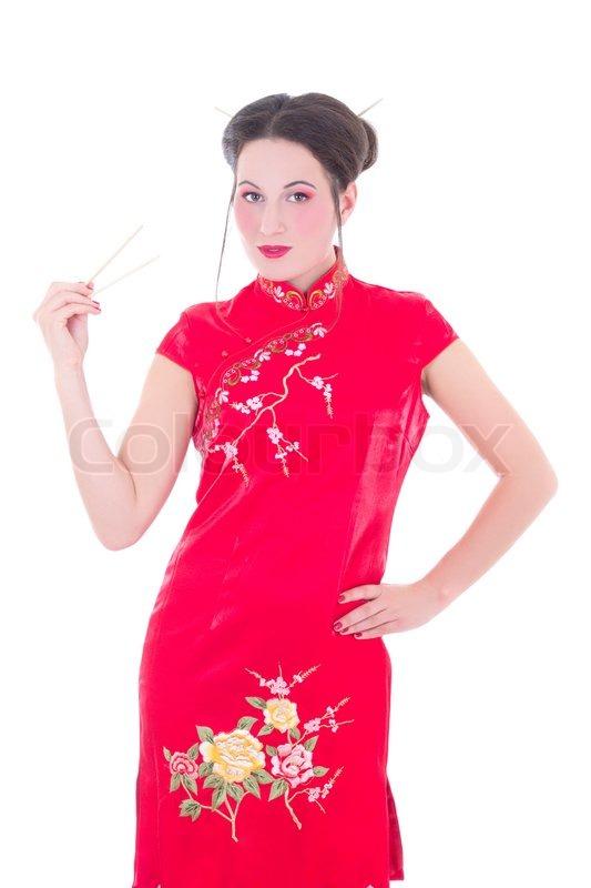 pigen i den røde kjole