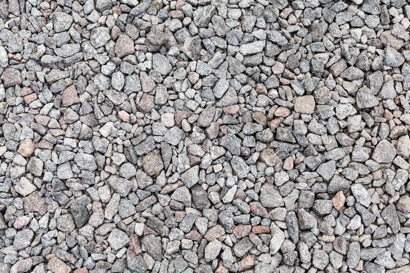 Gray Industrial Gravel Background Photo Texture Stock